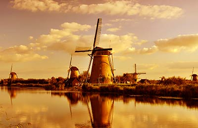 Färja från Harwich till Hook of Holland
