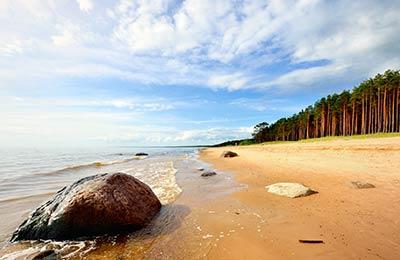 Färjor till Lettland