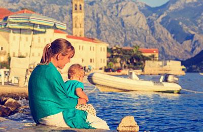 Färja till Montenegro