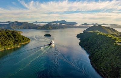 Färja till Nya Zeeland