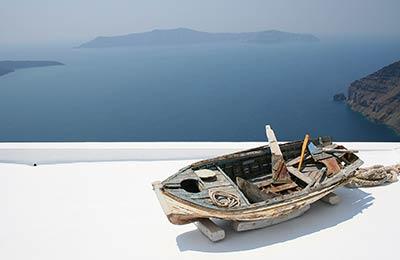 Färjor till Agios Kirikos