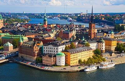 Färja från Gdynia till Karlskrona