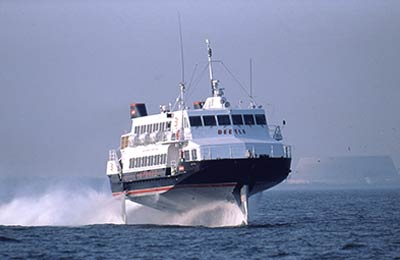 JR Kyushu Beetle Ferry Ferry färjor