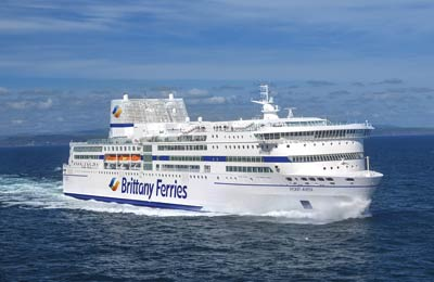 Brittany Ferries färjor
