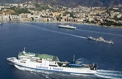 Caronte & Tourist Ferry färjor