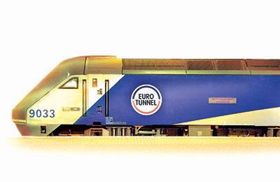 Eurotunnel färjor