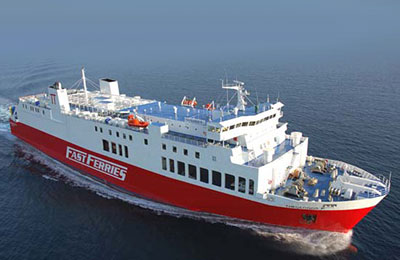 Cyclades Fast Ferries Ferry färjor