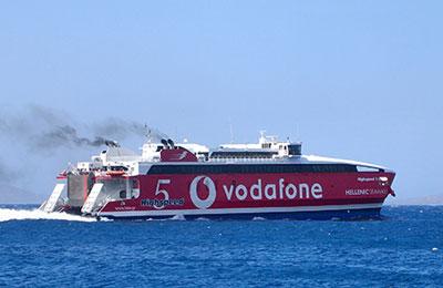 Hellenic Seaways Ferry färjor