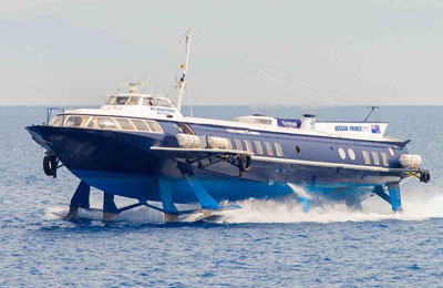 Dodecanese Flying Dolphins Ferry färjor