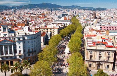 Barcelona färja